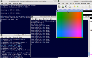 Framebuffer output