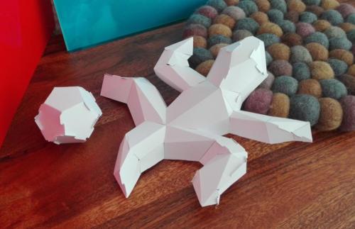 Eschers Lizard still 'recreated'