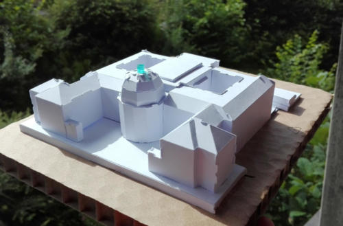 ETH Zürich main building model